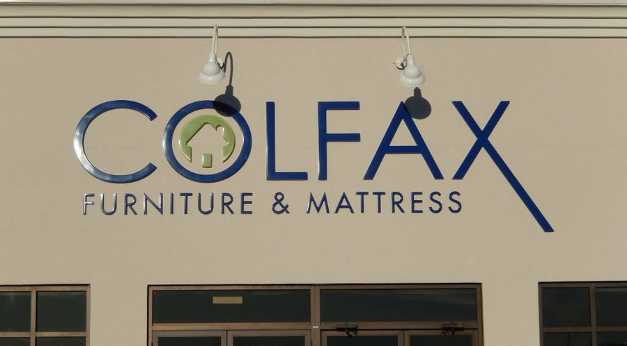Colfax Furniture Sign