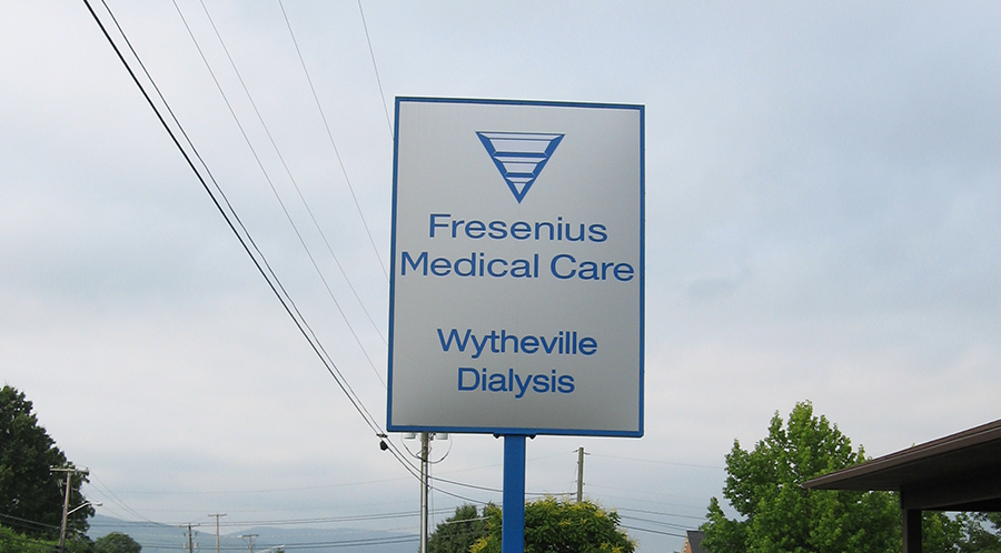 Fresenius Sign